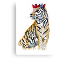 Party Tiger Canvas Print