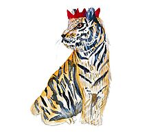 Party Tiger Photographic Print