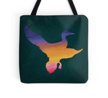 Sunset Duck Hunt Tote Bag
