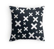 Multiply White & Black Throw Pillow