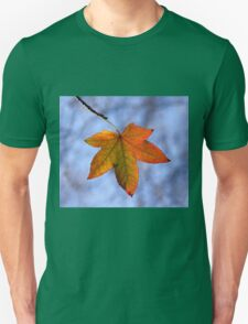 Autumn Leaf Backlit Unisex T-Shirt