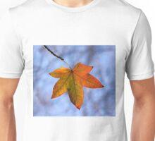 Autumn Leaf Backlit Unisex T-Shirt