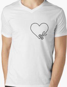 Cut My Heart Out Mens V-Neck T-Shirt