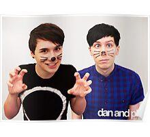 Dan & Phil/danisnotonfire & AmazingPhil Poster