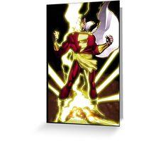 Shazam Greeting Card