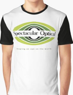 Spectacular Optical - Keeping an eye on the world Graphic T-Shirt