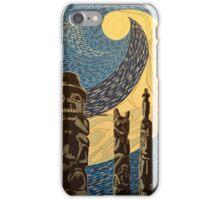 Moonlit Totems iPhone Case/Skin