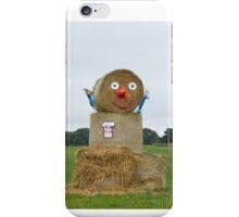 Straw Bale Figure iPhone Case/Skin