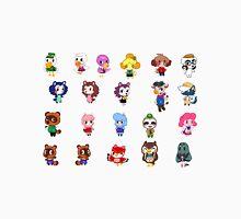 Animal Crossing- NPCS sheet T-Shirt