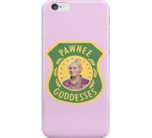 Leslie Knope Pawnee Goddesses Badge iPhone Case/Skin