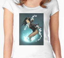 Zatanna Women's Fitted Scoop T-Shirt