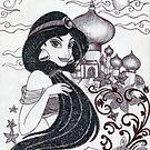 Monochrome Princess J by Kashmere1646