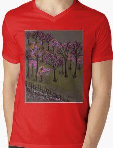 blossoms Mens V-Neck T-Shirt
