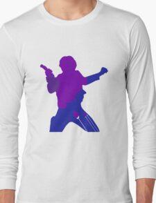 Han Solo Silhouette Long Sleeve T-Shirt