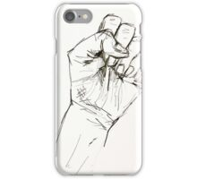 Clenched Protest Fist iPhone Case/Skin