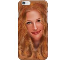 Julorobani - abstract digital portrait iPhone Case/Skin