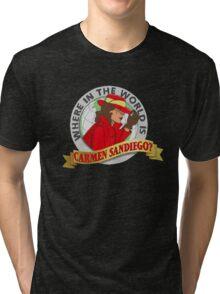 Carmen Sandiego Tri-blend T-Shirt