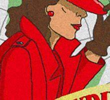 Carmen Sandiego Sticker