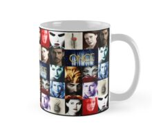 Once Upon a Time, emma swan, prince charming, snow white, hook, killian, rumpelstilskin, belle, red riding hood, red, season posters, Mosaic Mug Mug