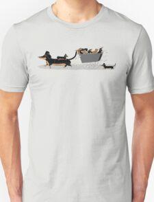 Sausage Dog Express Unisex T-Shirt