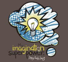 My Imagination is My Super Power One Piece - Short Sleeve