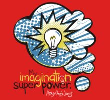 My Imagination is My Super Power One Piece - Long Sleeve