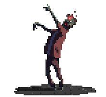 Zombie headshot by lrtvri