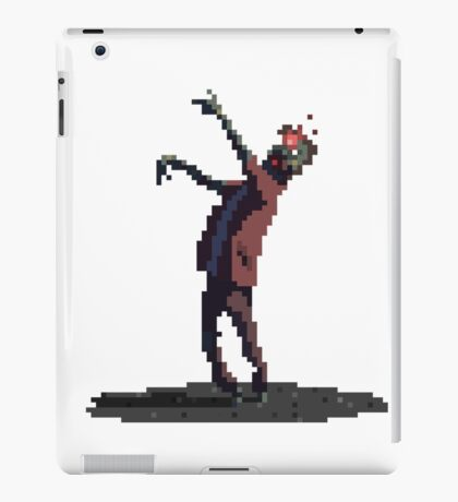 Zombie headshot iPad Case/Skin