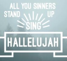 Panic! At The Disco - Hallelujah Sticker