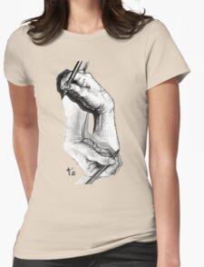 Escher revisited Womens Fitted T-Shirt