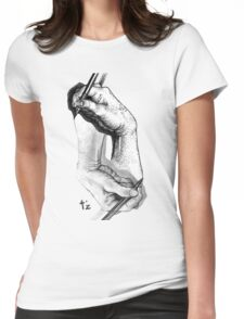 Escher revisited Womens Fitted T-Shirt
