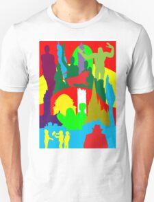 BIRMINGHAM (ENGLAND) SKYLINES Unisex T-Shirt