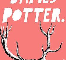 James Potter Sticker by dauerra