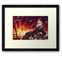 Fate Stay Framed Print