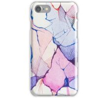 watercolor ink iPhone Case/Skin