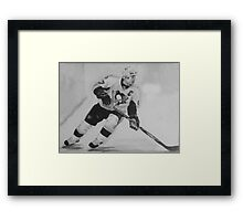 Paniting of Sidney Crosby, NHL- Players Framed Print