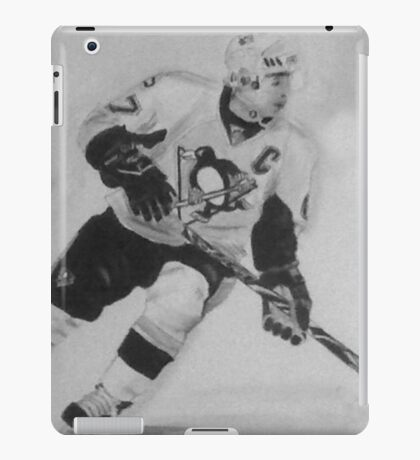 Paniting of Sidney Crosby, NHL- Players iPad Case/Skin