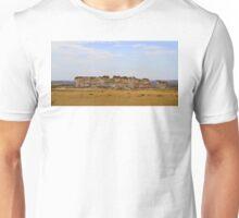 Monument Rocks in Western Kansas Unisex T-Shirt
