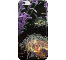 Hairy Jellyfish Fluorescent iPhone Case/Skin