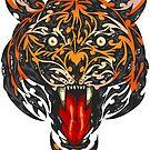 Biomech Tiger by JoeConde