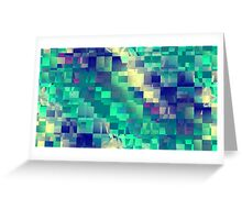 Beams 3.0 Remix 7 Greeting Card