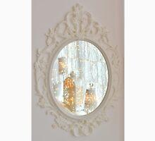 White rococo magic mirror fairy lights bokeh Unisex T-Shirt
