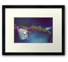 Perfect Droplet Framed Print