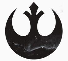 Cosmic Rebel Alliance Sigil - Grey by Rhaeyn Daae