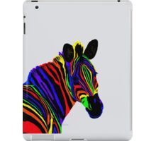 Zebra Head colorful 3K iPad Case/Skin