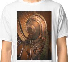 Golden spiral stairs Classic T-Shirt