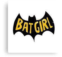 bat girlq Canvas Print