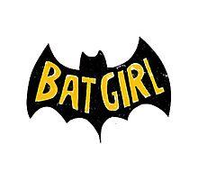 bat girlq Photographic Print