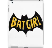 bat girlq iPad Case/Skin