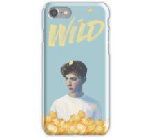 Troye Sivan + BLUE WILD iPhone Case/Skin